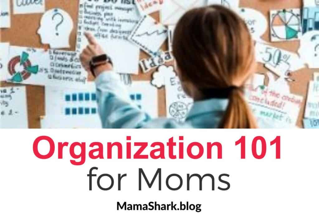 Organization basics for moms