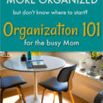 Organization basics for moms