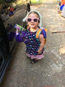 stylish toddler