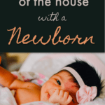 getting out of the house with a new baby