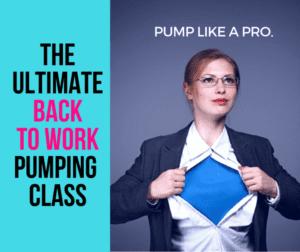 pumping class