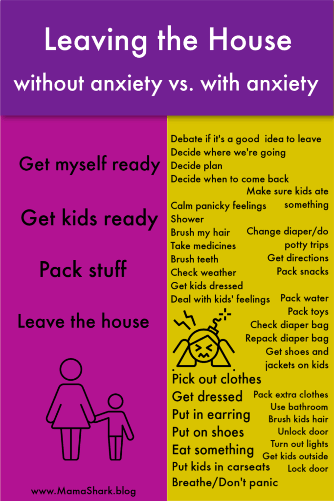 leaving the house with anxiety as a mom