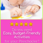 Easy, Budget-Friendly Kids Activities