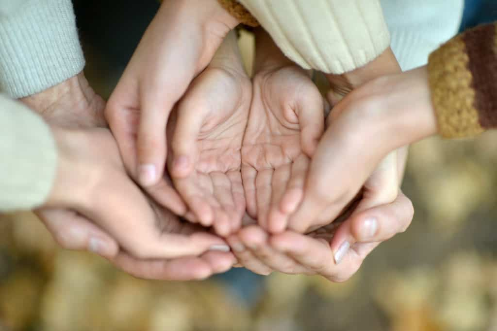community supporting grieving parents
