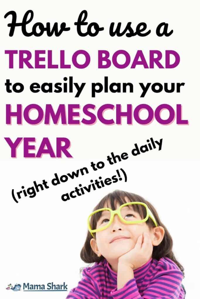 Homeschool Planning using Trello