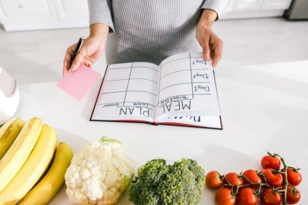 meal planning with what you already have to stay on budget