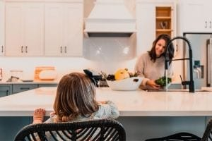 mom optimizing her health with primal living