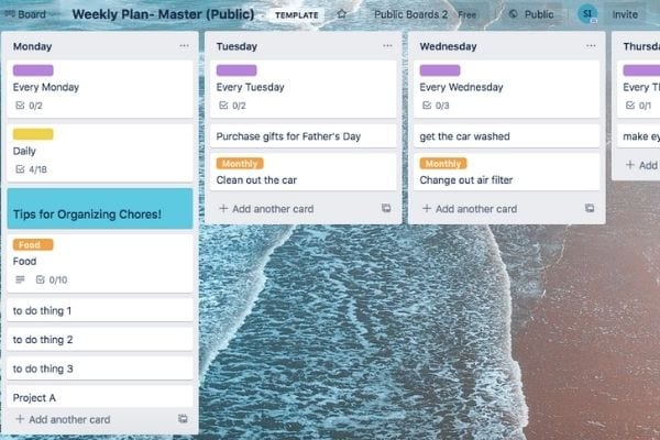 planning your week using trello to organize your life as a mom