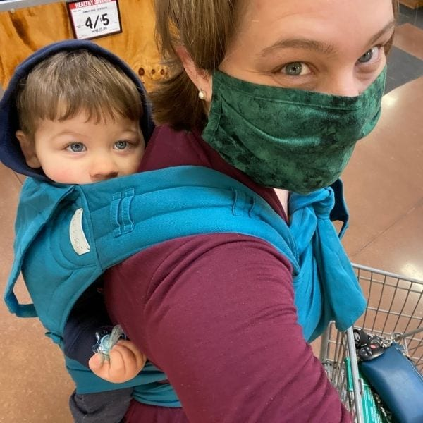 babywearing is on my list of things that make me happy