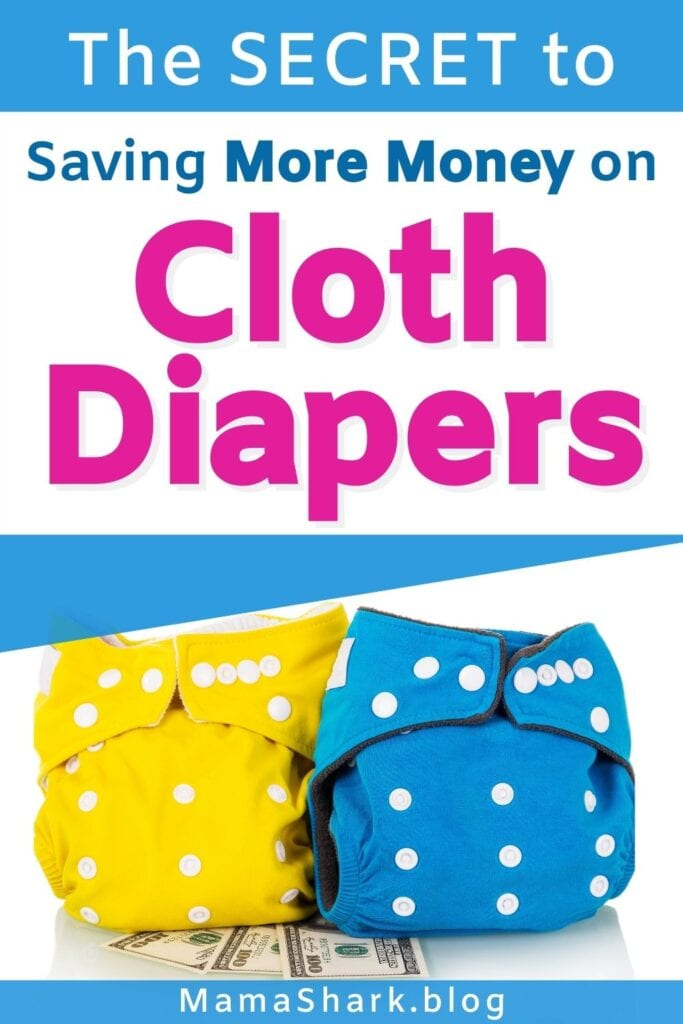 Cloth diapering on a budget- Save more money with these cloth diapering tips!
