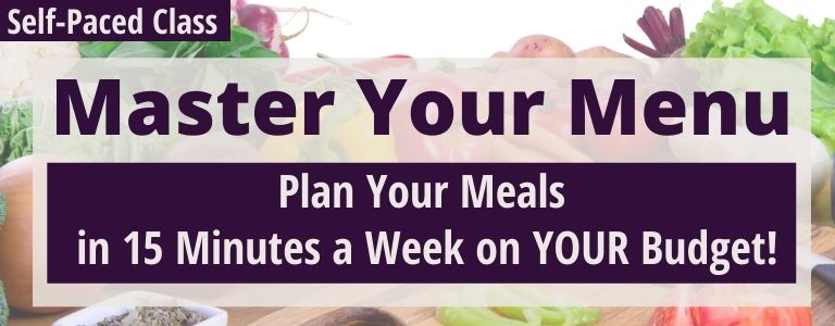 meal planning course