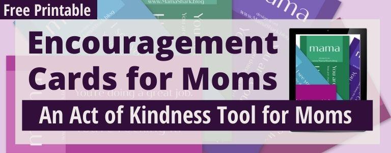 encouragement cards for moms