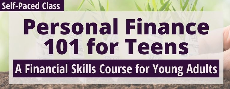 Personal finance 101 course for teens