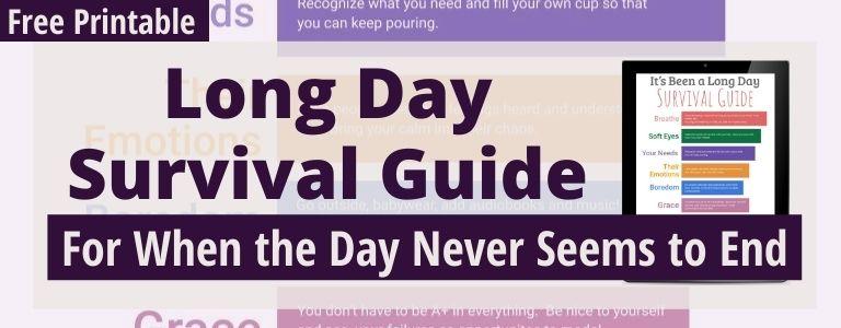 survival guide for moms
